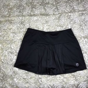 KSwiss Tennis Skirt. Black SZ M